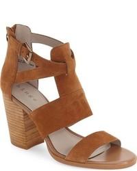 Hinge Cora Block Heel Sandal