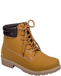 Tan padded noel work boot medium 813944