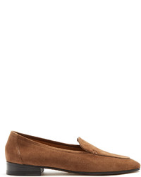 The Row Adam Suede Loafers