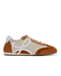 Loewe Beige Ballet Runner Sneakers