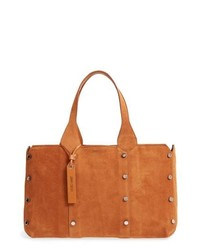 Jimmy Choo Small Lockett Suede Shopper