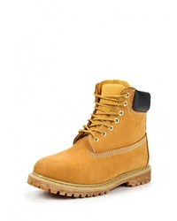 Tobacco Suede Work Boots