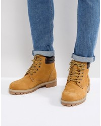 Jack & Jones Nubuck Boots With Warm Lining