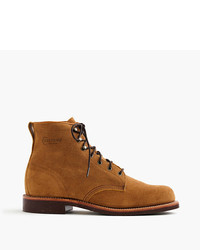 J.Crew Original Chippewa For Rough Out Leather Boots