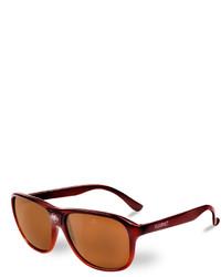 28613b49131 ... Vuarnet 03 Acetate Pilot Polarized Sunglasses Brown ...