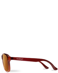 53e279dd8a5 ... Vuarnet 03 Acetate Pilot Polarized Sunglasses Brown