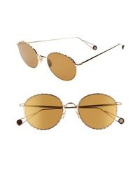 AHLEM De Lalma 54mm Round Sunglasses