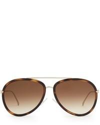 Fendi Aviator Acetate Sunglasses