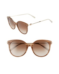 Max Mara Marilyn 54mm Special Fit Cat Eye Sunglasses