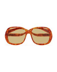 Rejina Pyo Projekt Produkt Square Frame Tortoiseshell Acetate Sunglasses