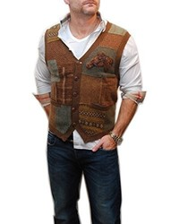 Tobacco Sweater Vest