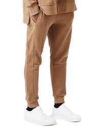 Topman Aaa Collection Paneled Slim Fit Jogger Pants