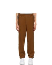 MAISON KITSUNÉ Brown Puma Edition Heavy Lounge Pants