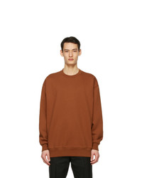 Acne Studios Brown Pink Label Sweatshirt