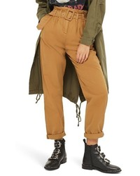 Topshop Belted Chino Pants