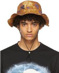 Loewe Brown Purple Paulas Ibiza Watercolor Explorer Hat