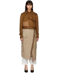 Loewe Brown Blanket Trench Coat