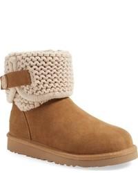 Girls Ugg Darrah Purl Knit Cuff Boot
