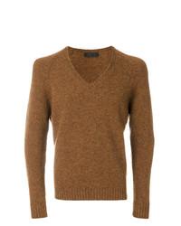 fae423e00212 Men's Tobacco V-neck Sweaters from farfetch.com | Men's Fashion ...