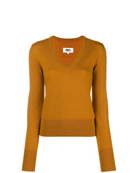 MM6 MAISON MARGIELA V Neck Jumper