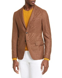 Eidos Fit Silk Wool Sport Coat