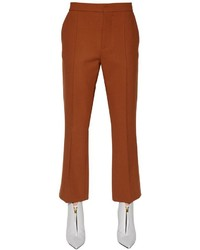 Marni Double Viscose Wool Blend Pants