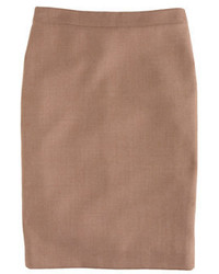 Tall no 2 pencil skirt in double serge wool medium 5260981