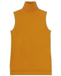 Uniqlo Merino Blend Ribbed Turtleneck Sweater