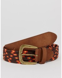 Asos Brand Woven Belt