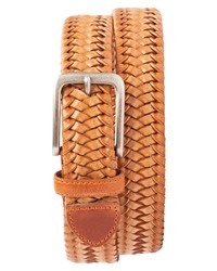 Tommy Bahama Braided Leather Stretch Belt