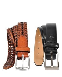 Dockers Leather Belt Gift Set