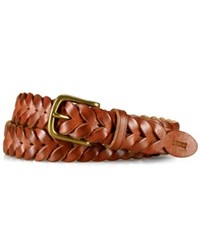 Ralph Lauren Polo Belt Braided Leather Belt