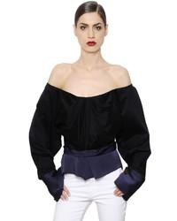 Top con hombros descubiertos negro de Vivienne Westwood
