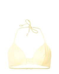 Top de bikini amarillo de Eres