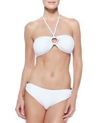 Top de bikini blanco de Michael Kors