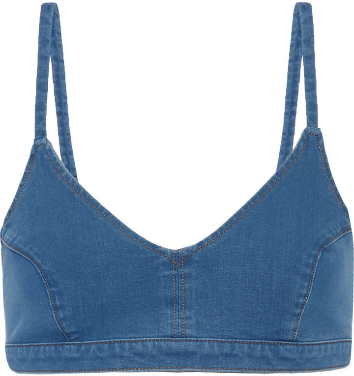 Top de bikini bleu J Brand