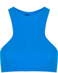 Top de bikini bleu Mikoh