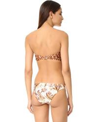 Top de bikini brun clair Zimmermann