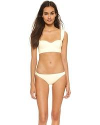Top de bikini en beige de Kate Spade