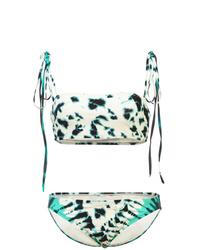 Top de bikini gris de Proenza Schouler