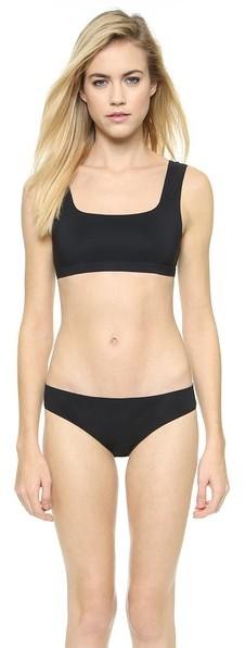 Top de Bikini Negro de Alexander Wang