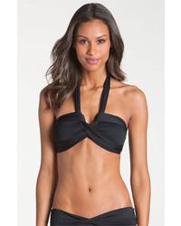 Top de Bikini Negro de Seafolly
