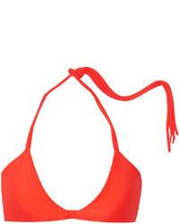 Top de bikini orange Mikoh