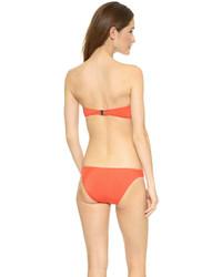 Top de bikini orange Zimmermann