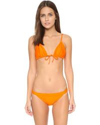 Top de bikini orange Zero Maria Cornejo