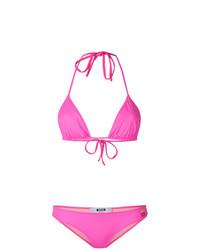 Top de bikini rosa de MSGM