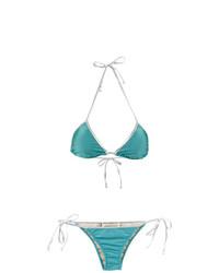 Top de Bikini Turquesa de Adriana Degreas