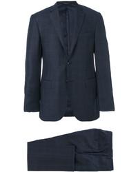 Traje de lana azul marino de Corneliani