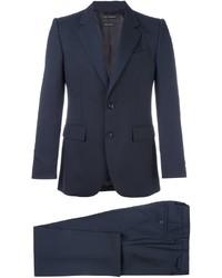 Traje de lana azul marino de Marc Jacobs