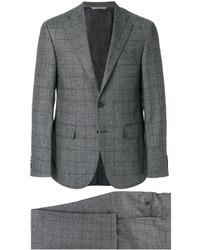 Traje de lana en gris oscuro de Canali